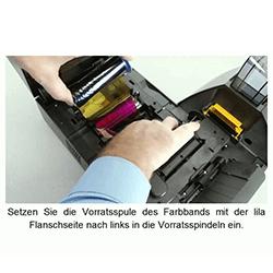 Anleitungen, wechseln der Druckerverbrauchsmaterialen